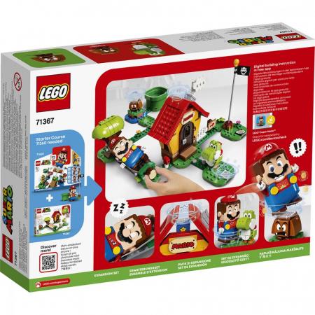 LEGO® Super Mario: Set de extindere Casa lui Mario si Yoshi - 713672