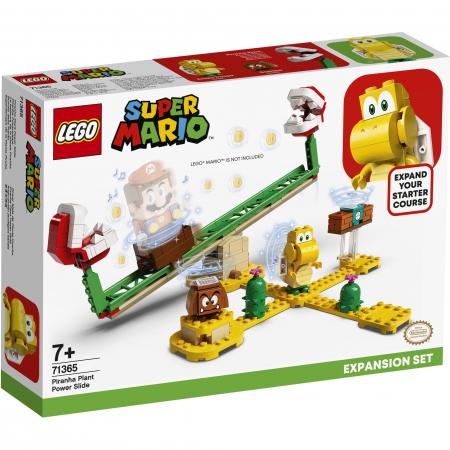 LEGO® Super Mario: Set de extindere Toboganul Plantei Piranha - 713650
