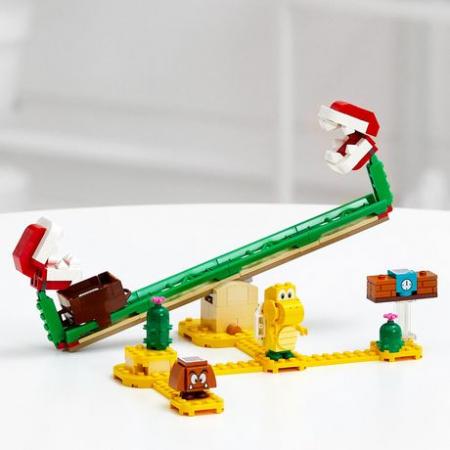 LEGO® Super Mario: Set de extindere Toboganul Plantei Piranha - 713651