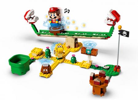 LEGO® Super Mario: Set de extindere Toboganul Plantei Piranha - 713652