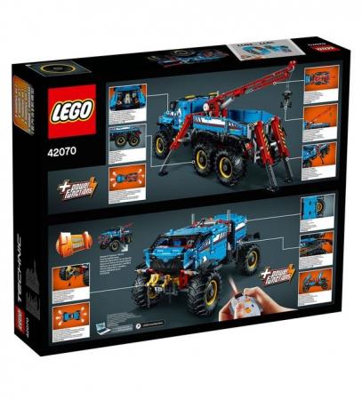 LEGO® Technic Camion de remorcare 6x6 42070 [2]