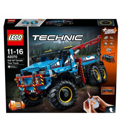 LEGO® Technic Camion de remorcare 6x6 42070 [1]