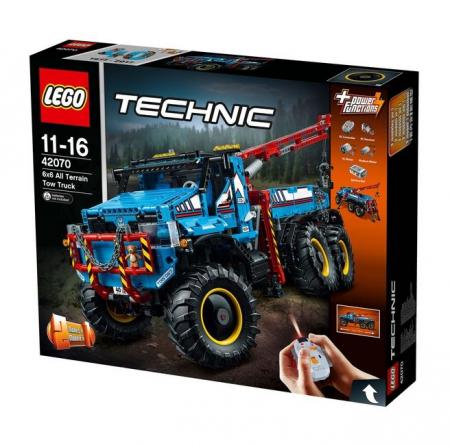 LEGO® Technic Camion de remorcare 6x6 42070 [0]