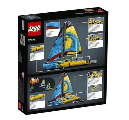 Lego Technic Iaht de curse 420741