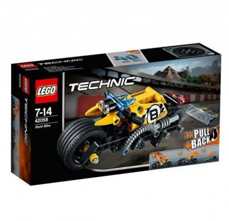 LEGO® Technic Motocicleta de cascadorie 42058 [0]