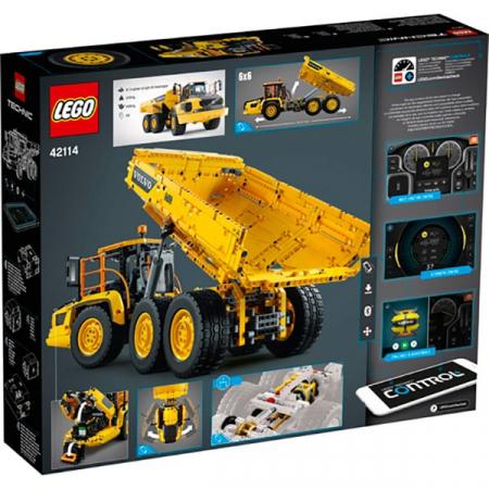 LEGO® Technic: Transportor Volvo 6x6 421141