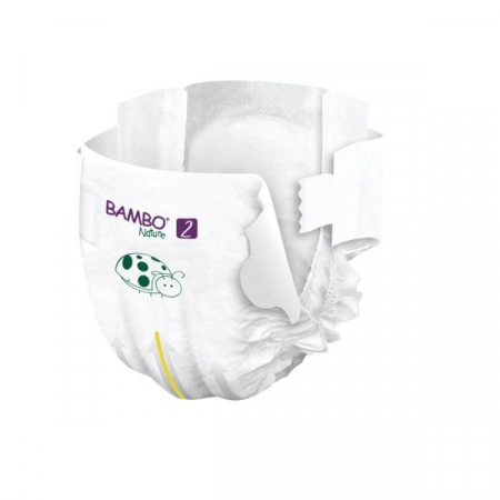 Scutece Bambo Nature, Eco-Friendly, nr2, 3-6 kg, 30 buc3