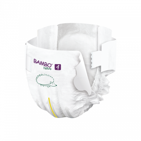 Scutece Bambo Nature, Eco-Friendly, nr4, 7-14 kg, 48 buc2