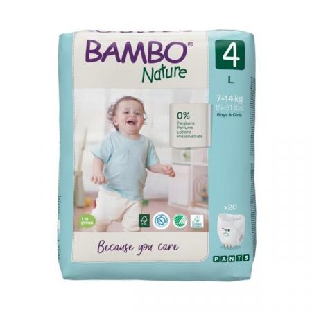 Scutece Chilotel Bambo Nature Eco-Friendly, nr4, 7-14 kg, 20buc1