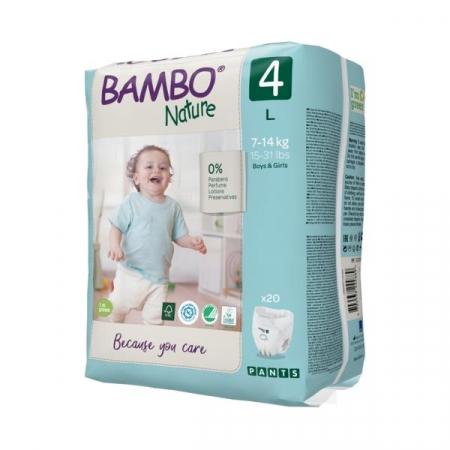 Scutece Chilotel Bambo Nature Eco-Friendly, nr4, 7-14 kg, 20buc2