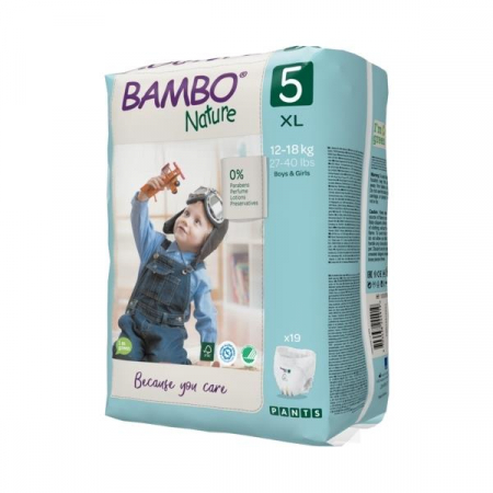Scutece Chilotel Bambo Nature Eco-Friendly, nr5, 12-18 kg, 19buc2