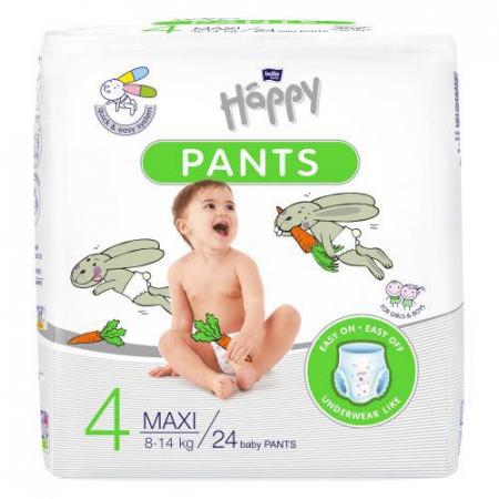 Scutece Chilotel copii, Maxi, nr 4, 8-14 kg, 24buc