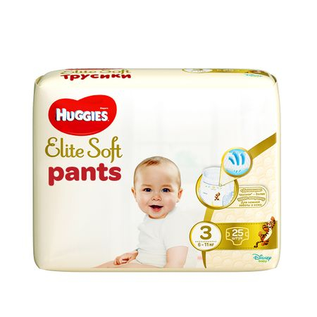 Scutece Chilotel Huggies Elite Soft, nr3, 6-11kg, 25 buc.
