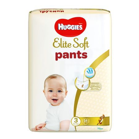 Scutece Chilotel Huggies Elite Soft, nr3, 6-11kg, 54 buc.