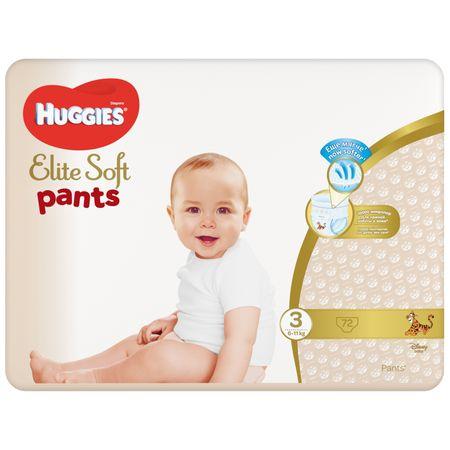 Scutece Chilotel Huggies Elite Soft, nr3, 6-11kg, 72 buc.0