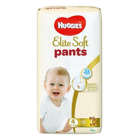 Scutece Chilotel Huggies Elite Soft, nr4, 9-14kg, 42 buc.