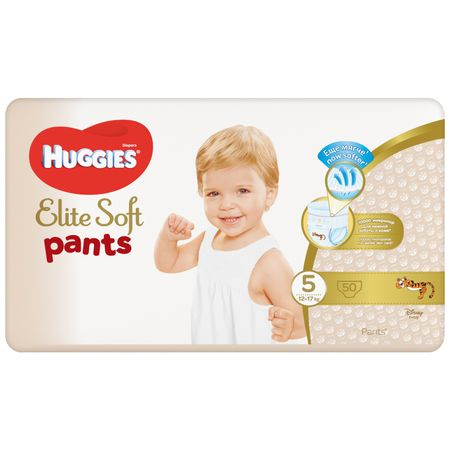 Scutece Chilotel Huggies Elite Soft, nr5, 12-17kg, 50 buc.0