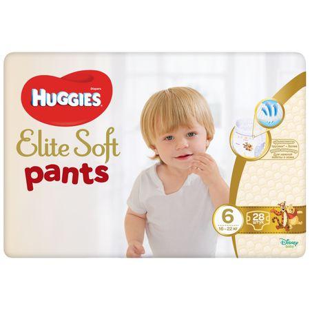 Scutece Chilotel Huggies Elite Soft, nr6, 15-25kg, 28 buc. [0]