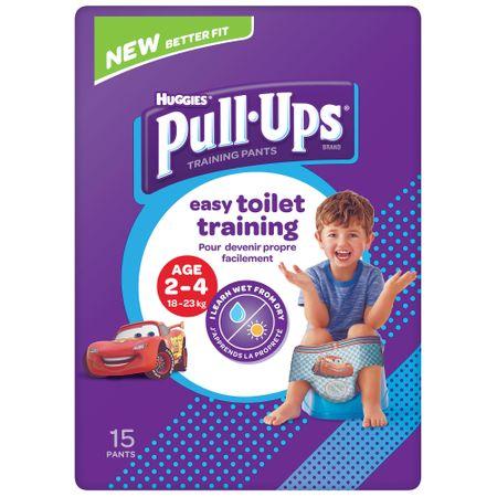Scutece Chilotel Huggies, Pull-Ups, Boy, 2-4ani, 18-23kg, 15buc.