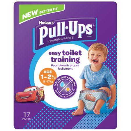 Scutece Chilotel Huggies, Pull-Ups, Boy, nr1-2.5ani, 8-17kg, 17buc.
