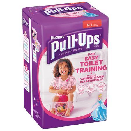 Scutece Chilotel Huggies, Pull-Ups, Girl, nr6, 16-23kg, 12buc.