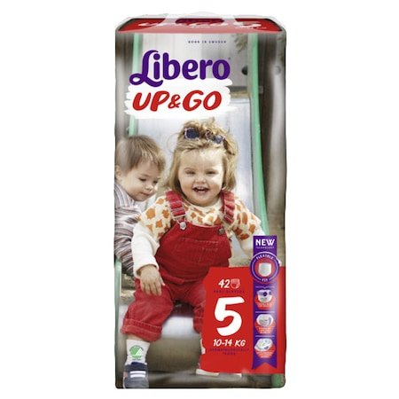 Scutece Chilotel Libero Up&Go Unisex, nr5, 10-14kg, 42 buc