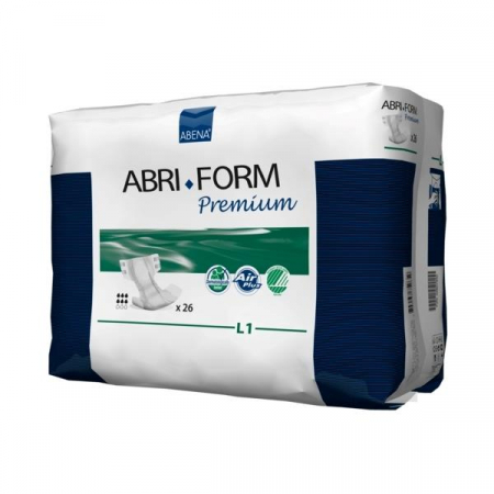 Scutece Incontinenta Adulti Abri-Form L1 Premium, 26 bucati [1]