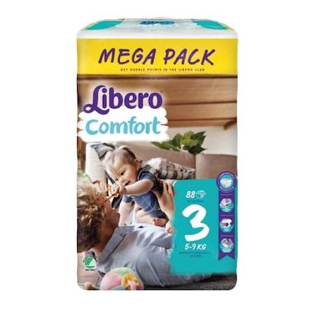 Scutece Libero Baby Soft, nr3, 5-9kg, 88 buc