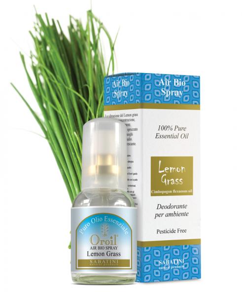 Lemon Grass - Spray Bio pentru Ambient 0