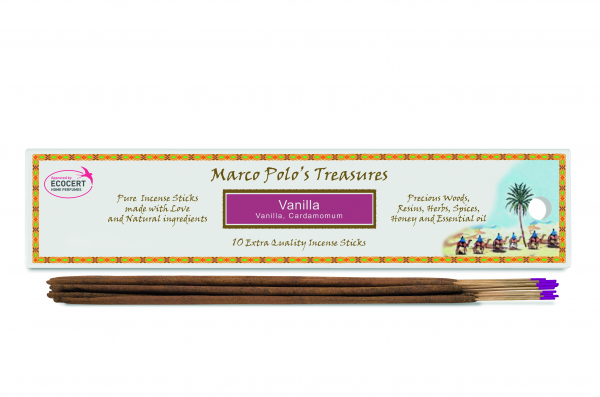 Vanilie - 10 Bețișoare - Bețișoarele lui Marco Polo 0
