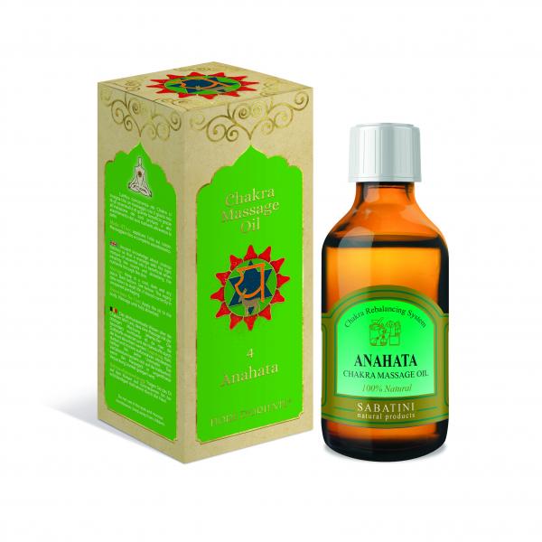 Ulei pentru Masaj Chakra Nr.4 100 ml - Anahata 0