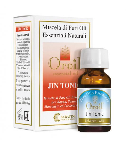 Jin Tonic - 10 ml - Amestec de Uleiuri Esențiale 0