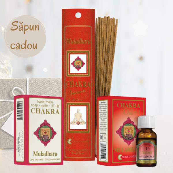 """Kit Chakra Nr. 1 - Muladhara """"Curaj și vitalitate"""" 0"""
