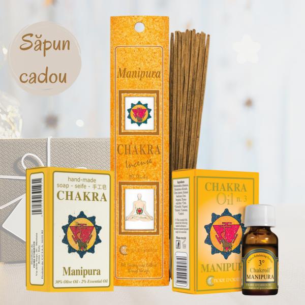 "Kit Chakra Nr. 3 - Manipura ""Inspirație și claritate"" 0"