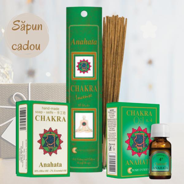 "Kit Chakra Nr. 4 - Anahata ""Iubire necondiționată"" 0"