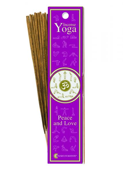 Pace și Iubire - Bețișoare pentru Yoga  0