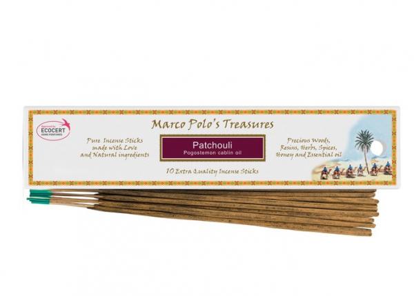 Patchouli - 10 Bețișoare - Bețișoarele lui Marco Polo 0