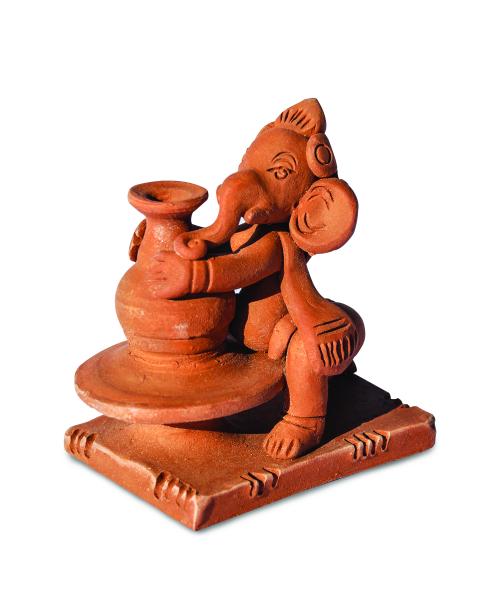 Ganesha Crea h 10 cm - Suport pentru Bețișoare 0