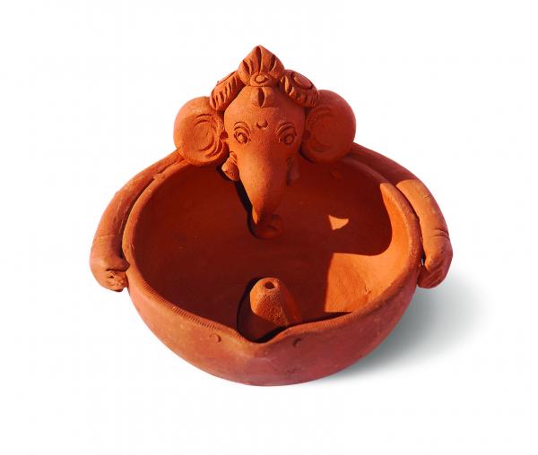 Ganesha Mic 7 cm - Suport pentru Bețișoare 0