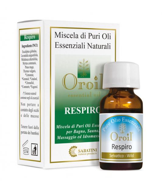 Respiro - 10 ml - Amestecuri de Uleiuri Esențiale 0