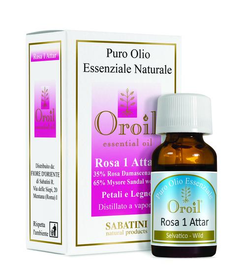Rosa 1 Attar - Ulei Esențial 0
