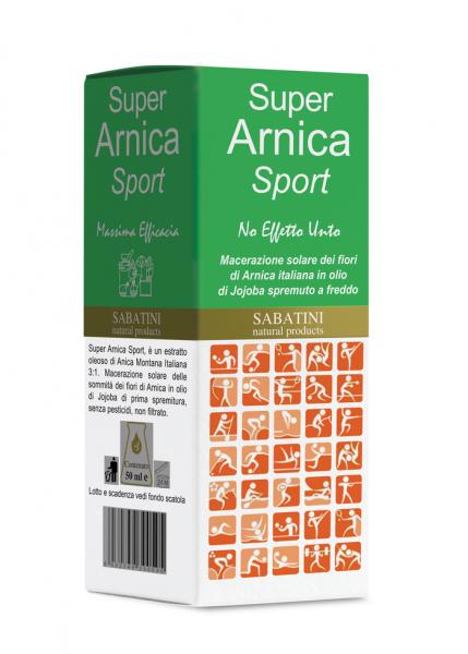 Super Arnica Sport 50 ml - Ulei pentru Masaj 0