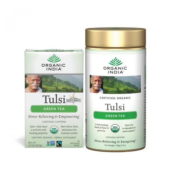 Tulsi (Busuioc Sfânt) Ceai Verde 0