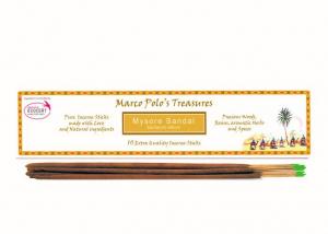 Santal de Mysore - 10 Bețișoare - Bețișoarele lui Marco Polo