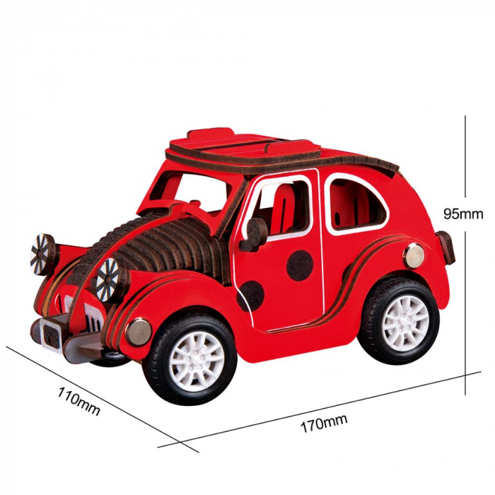 Puzzle 3D Beetle Car [1]