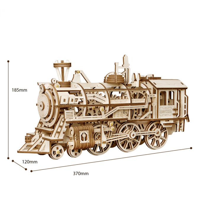 Puzzle 3D Locomotive [1]