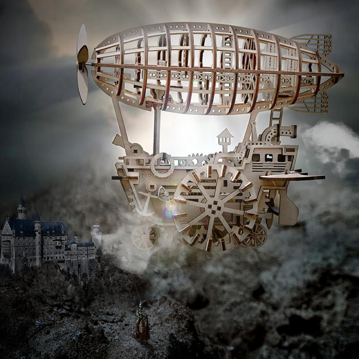 Puzzle 3D Airship [4]