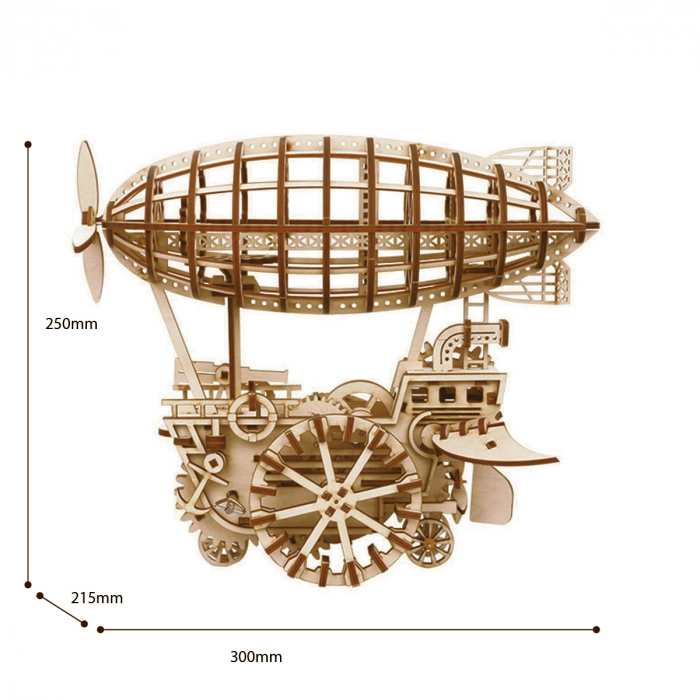 Puzzle 3D Airship [1]
