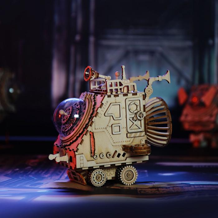 Puzzle 3D Space Vehicle [3]