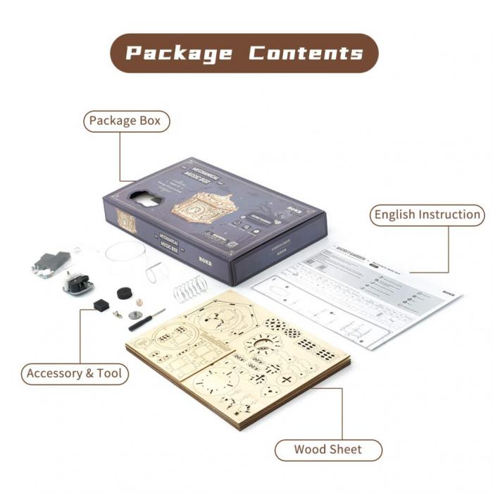 Puzzle 3D Secret Garden [5]